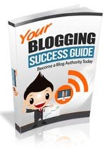 Product picture Your Blogging Success Guide