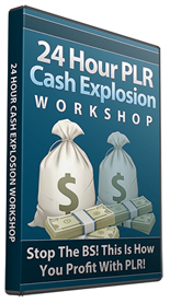 Product picture 24 Hour PLR Cash Explosion