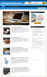 Product picture Freelance Writing Blog