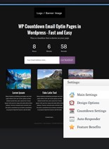 Product picture WordPress OptIn Countdown